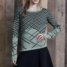 Baker Pullover Green by One Grey Day