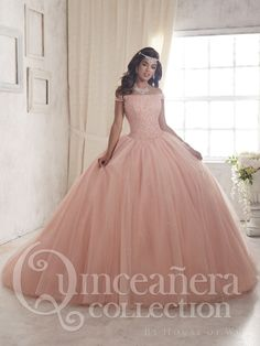 a8ea3d8bd4 Quinceanera Dress  26844 Pink Quinceanera Dresses