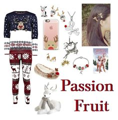 """Reindeer #101"" by passionfriut on Polyvore featuring Bling Jewelry and Casetify"