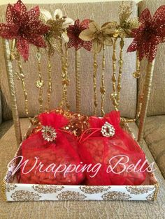 #tray#dryfruit#weddings#roka#hangings#love#elegant#bliss#trousseaupacking#lovework#happy To order/inquire drop us an email a_bhagnani@hotmail.com or contact us 9833954413 Wedding Gift Wrapping, Wedding Favours, Wedding Cards, Wedding Gifts, Wedding Events, Indian Engagement, Engagement Gifts, Flower Decorations, Wedding Decorations