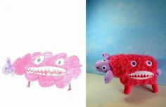 Toys Designed From Children's Drawings