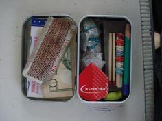 Tiny emergency kit
