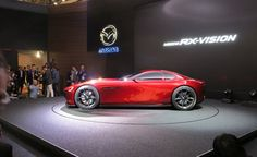Mazda RX-Vision Concept: Rotary-Powered and Hot as Hell - Photo Gallery of Auto Shows from Car and Driver - Car Images - Car and Driver