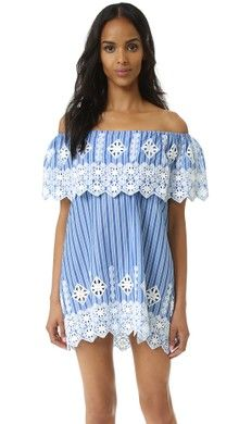Miguelina Agnes Off the Shoulder Dress | SHOPBOP