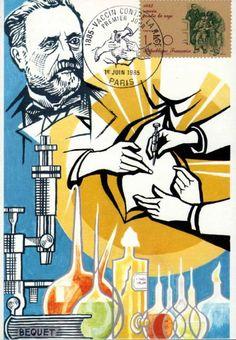 Timbre : 1985 vaccin contre la rage   WikiTimbres