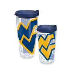 Tervis® West Virginia University Wrap Tumbler with Blue Lid - BedBathandBeyond.com