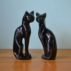 Retro Cats figure figurine ceramic Figures