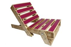 Fold-out Pallet Chair By Gas & Air Studios