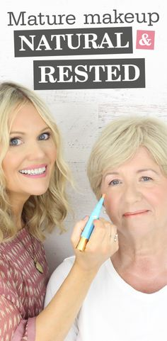 "Makeup artist shows you how!  I'm often asked for natural makeup ideas by mature women who don't wish to look fake or ""over-done"". In this natural, mature makeup tutorial with my lovely model Susan, I share tips for lifted eyebrows, a glowing complexion and brighter eyes. This look is great for everyday makeup, and works for a radiant wedding makeup look too, and looks amazing whether you have blonde hair, brunette hair, dark hair or silver hair. I share my TOP SPF anti-age skin care tip…"