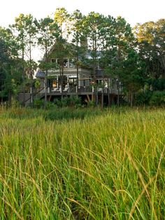 HGTV Dream Home 2013 overlooks a portion of the Kiawah River, which leads to the Atlantic Ocean. http://www.hgtv.com/dream-home/hgtv-dream-home-2013-deck-pictures/pictures/page-9.html?soc=dhpp