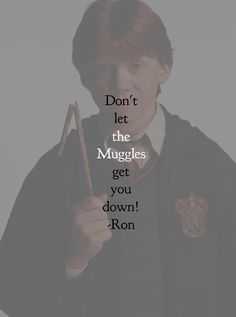 harry potter character quote • ron