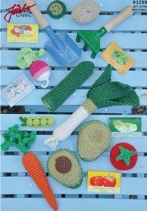 FREE Vegetables Crochet Pattern / Tutorial Great gift DIY crochet pretend food