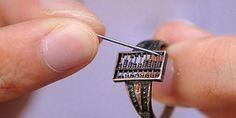 Early wearable computer: Qing Dynasty abacus ring.