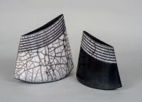 Simcha Even-Chen clay vessels - Dialog... @ivannairem .. https://tr.pinterest.com/ivannairem/ceramics-pottery-ll/