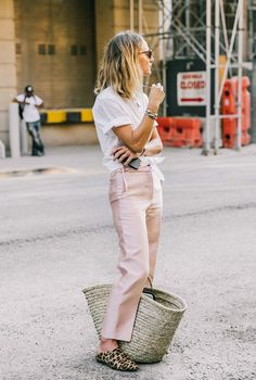Pink outfit idea.