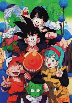 Dragon Ball Z Dragon Ball anime Akira Toriyama Son Goku Son Gohan Kuririn Bulma Piccolo Dende Nail Namek Namekians Freeza Saga