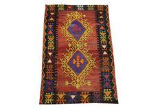 Turkish kilim rug Oriental 4,0 X 2,3  Small size Floor rug Kilim ethnic kilim rug Handwoven kilim Decorative kilim bohemian kilim Q-111