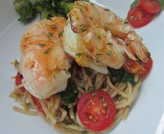 Little Mommy, Big Appetite: Grilled Parmesan Garlic Buttered Shrimp