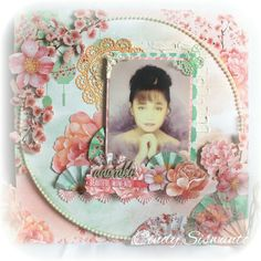 Beautiful Moments- scrapbook layout by Cindy Siswanto (Cin's Scrapworks) using cherry blossom collection from Kaisercraft