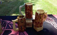 Wooden Beer Mug, Beer Mugs, Tableware, Dinnerware, Tablewares, Dishes, Place Settings