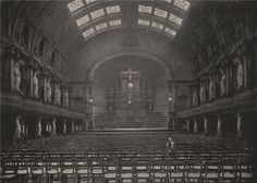 The Queens' Hall, London, destroyed 1945, photo 1896