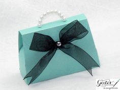 Tiffany Paper Purse  Breakfast at Tiffany's Party Favors by Gvites, $5.99