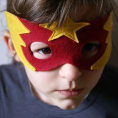 a fantastic superhero/lucha libre mask. love it!