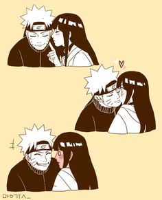 Hinata: Okay, I'll give you a kiss.
