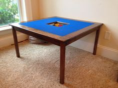 Learn how to build a LEGO® play table for hours of fun! FREE plans and tutorial at RogueEngineer.com