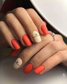Cute Nail Colors, Cute Nails, Pretty Nails, One Color Nails, Cute Nail Art, Pink Nails, My Nails, Fall Nails, Neutral Nail Polish