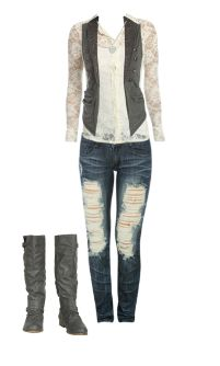 WetSeal.com Runway Outfit:  Everyday Business by BabyDoll7043  Outfit Price $113.49