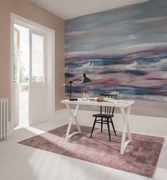 Wallcoverings to Banish the Post Holiday Blues — Heart Home Ibiza, Post Holiday Blues, View Wallpaper, Beautiful Wallpaper, Feature Wall Bedroom, Inspirational Wallpapers, Soft Furnishings, Modern Classic, Contemporary Style