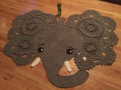 Crochet Patterns Elephant Rug : ... pattern https://irarott.com/Josefina_and_Jeffery_Elephant_Rug_Crochet
