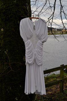 1980s Wedding Dress by Livsloves on Etsy