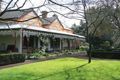 since 1985 a B&B and a small working farm. Yep that's my dream! Beautiful Buildings, Beautiful Homes, Australia House, Australian Architecture, Big Houses, Dream Houses, Brick And Stone, Historic Homes, My Dream Home