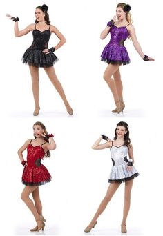 Fashionista Sequin Dress Ice Skating Christmas Tap Dance Costume Child & Adult #Cicci