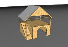 Two Story Dog House by Ryan Kelley - 3D Warehouse
