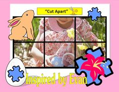 Easter Simple Puzzles for Autism: Inspired by Evan Autism Resources.