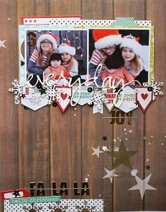 #papercraft #scrapbook #layout Challenge Sunday | Sketch It Out