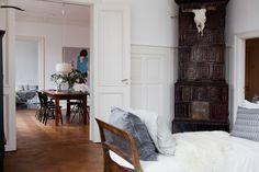 Nina Persson's beautiful Malmö home.