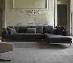 Contemporary sofas, We stock a range of hand picked, luxury designer sofas and living room chairs, For special offers visit our website today Loft Interior, Room Interior Design, Interior Architecture, Dining Room Bench, Living Room Chairs, Sofa Furniture, Furniture Design, Modern Sofa Designs, Sofas