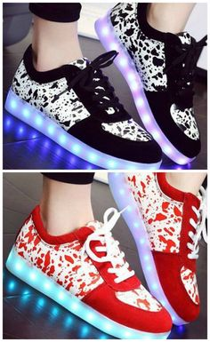 buy cheap clearance purchase online Trendy Lighted and Print Design Sneakers For Women cheap sale get authentic free shipping 2014 unisex free shipping shop offer 507qh