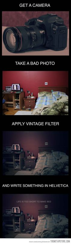 How to take a photo like a Hipster
