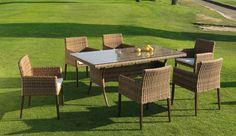 Sillón de comedor de jardín Agadir en www.ambar-muebles.com