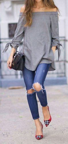 4859e60b2c00a8 71 Best off shoulder outfit images