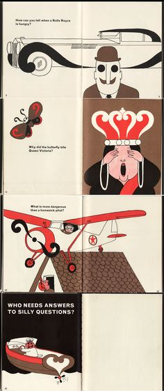 Illustrations by Tomi Ungerer from the children's book 'Ask Me a Question' - ~ THE iOTA BLOG ~