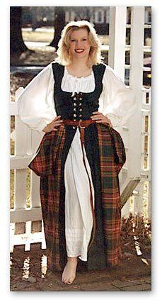 renaissance festival scottish dresses - Google Search