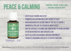 Young Living Peace & Calming Essential Oil Blend | Part of the premium kit with a FREE book at www.thewelloiledlife.com/premiumkit!