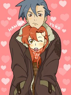 Yoko x Kamina – Gurren Lagann Sad Anime, Anime Art, Gurren Laggan, Yoko Littner, Mecha Anime, Cristiano, Noragami, Dear God, Anime Couples