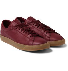 Nike - + fragment design Tennis Classic AC Leather Sneakers.
